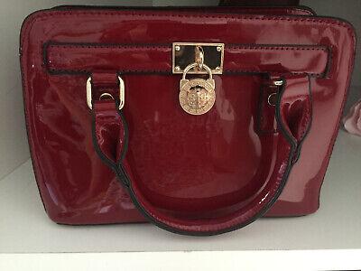 Pochette borsa di mano borgogna