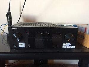 Klipsch speakers,Polk audio sub, Panasonic vsx 522 receiver