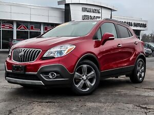 2014 Buick Encore LEATHER... FWD....ONE OWNER..