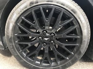 Mustang performance pack rims tires tpms
