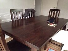 7 piece dining setting St Albans Park Geelong City Preview