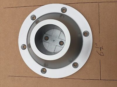 RV surface mount ABS pedestal TABLE LEG BASE 6 1/2