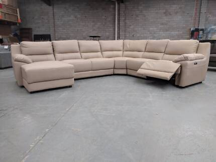 SOFAS, CORNER LOUNGES AND RECLINING CORNERS (LEATHER) WHOLESALE!!