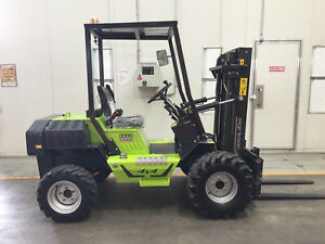 Compact 1.2T Rough Terrain Forklift Wetherill Park Fairfield Area Preview