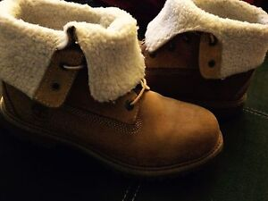 Brand new ladies authentic timberland fleece roll down