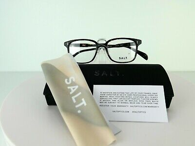 SALT.Optics Greg (MNT) Matt Nightfall Tortoise 48 x 18 HANDMADE Eyeglass Frames (Handmade Optical Frames)