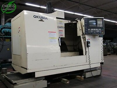 1997 Okuma Cadet-v Cnc Vertical Milling Machine Serial No. 0032 M-064