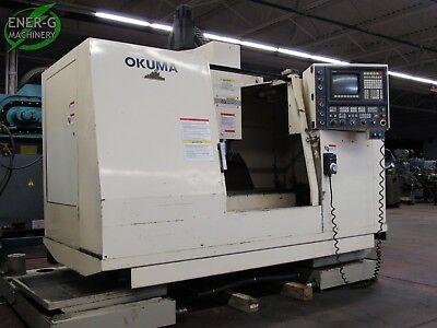 Okuma Cadet-v 3-axis Cnc Vertical Milling Machine Id M-064