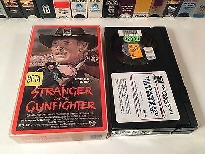 * The Stranger And The Gunfighter Betamax NOT VHS 1974 Spaghetti Western Beta
