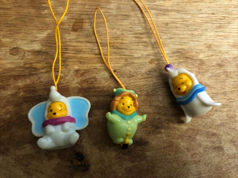 Disney Winnie The Pooh Peek a Pooh Figures Series 13 Circus (3 Dangler Charms)