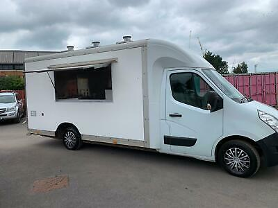 RENAULT MASTER MOBILE CATERING/BURGER/FOOD/COFFEE/ VAN FOR SALE