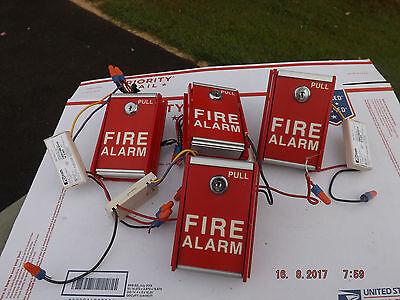 Fci-ms-6-fire-alarm-pull-station Fci Amm-2 Addressable Mini Monitoring Module