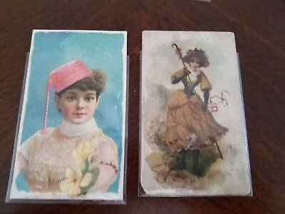 1890s lot Gail & Ax Navy Long Cut lot of 2 FRENCH NOVELTIES stars of stage , used for sale  San Diego