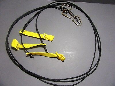Tie Cords For Poultry Chickens Three Cords 6ft Each Nylon Hitches