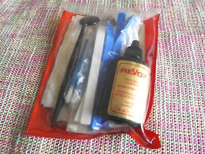 Original REVOX Studer Tapemachine Cassette Tapehead Cleaning Kit Set (no6)