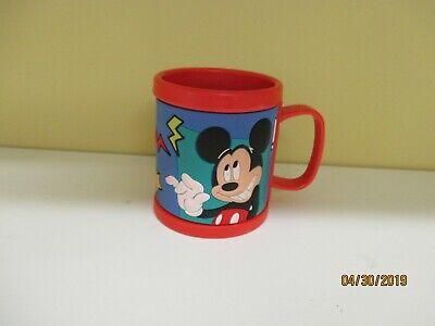 Disneyland Mickey Mouse Pluto Plastic 3D Mug Red Disney Cup with Handle Kcare](Mickey Mouse Plastic Cups)