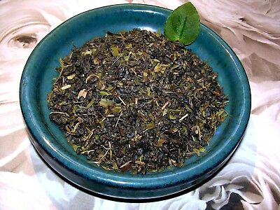 (Tea Moroccan Mint Leaf & Green Tea Herbal Infusion Blend All Natural Mint )