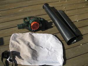 Black&Decker souffleur/aspirateur à feuilles