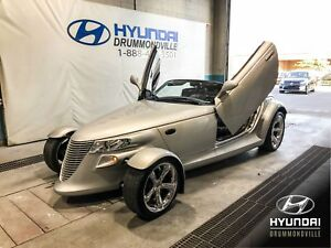 PLYMOUTH PROWLER RAODSTER + CUIR + WOW !