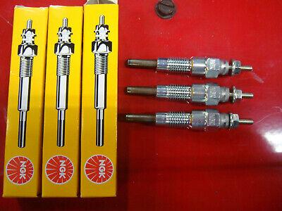 3 Massey Ferguson 1010 1020 1030 1035 Tractor Ngk Glow Plug Plugs - 3284128m1