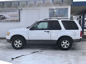 **SOLD***2003 Ford Explorer Sport 4x4 Only 145,000km