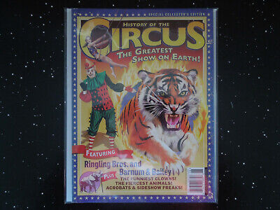 History Of The Circus The Greatest Show On Earth Athlon Publications  - $4.99