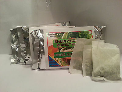 Energybolizer Slimming Tea, 3 Bags of 24 Teas, Mango-Orange-Plum $5 priority