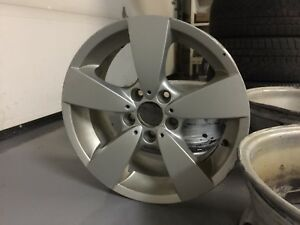 "BMW OEM 17"" rims + free winter tires - 5x120"