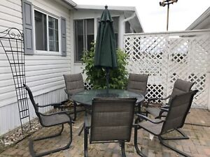 6 Seat Outdoor Dining Set