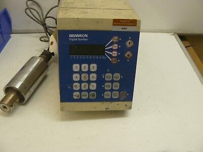 Branson Digital Sonifier 450 Cell Disruptor Controller With 102c Converter