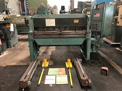 Wysong Model 1052 10ga X 52 Mechanical Squaring Shear Gmt-1630