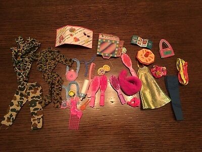 Barbie Doll Small Cheap Group Of 20+ Accessories Props Clothes Ken - Cheap Props