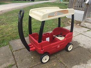 Stage 2 wagon with roof and storage - excellent condition