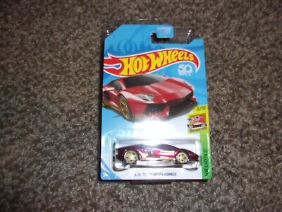 HOT WHEELS 2018 SUPER TREASURE HUNT AVENTADOR  MIURA  HOMAGE
