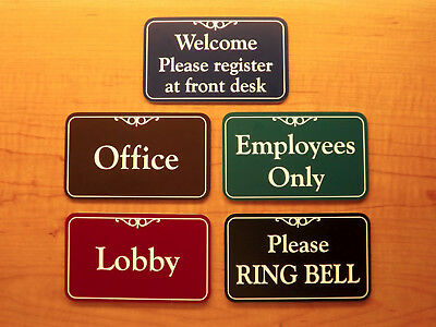 Custom 3x5 Engraved Business Suite Sign Laundry Room Decorative Personalized
