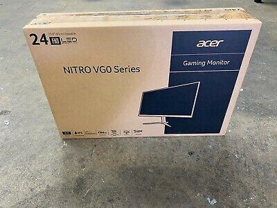 "ACER NITRO VG240Y PBIIP 23.8"" FULL HD IPS MONITOR W/ FREESYNC BRAND NEW"
