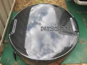 NISSAN SPARE WHEEL COVER - GOOD CONDITION GENERALLY - NO KEY Kelmscott Armadale Area Preview