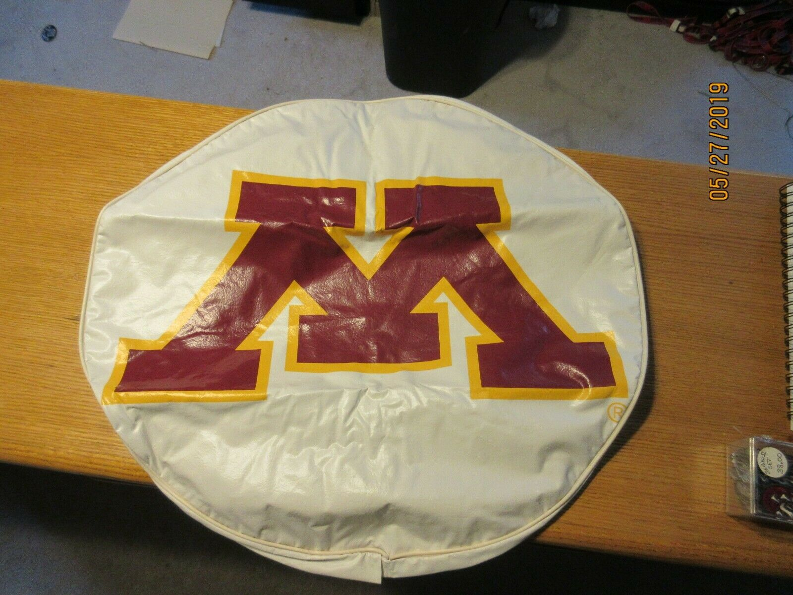 Minnesota Gophers Tire Cover by HBS Size 0 College