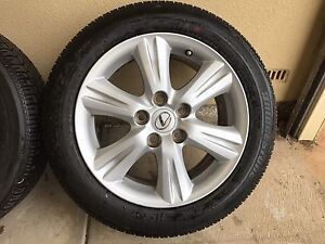 16 inch alloy wheels & Tyres x4 Findon Charles Sturt Area Preview