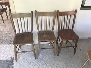 Vintage chairs Maroubra Eastern Suburbs Preview