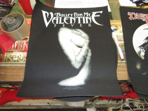 BULLET FOR MY VALENTINE COLLECTABLE RARE VINTAGE BACKPATCH BACK PATCH 2012