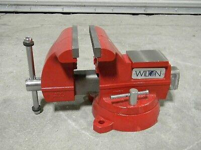 Wilton Utility Workshop Bench Vise W Swivel Base 8 Jaw Width 7-12 Opening