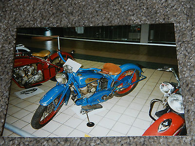 OLD VINTAGE MOTORCYCLE PICTURE PHOTOGRAPH INDIAN BIKE #9