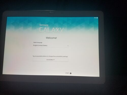 """Samsung Galaxy Tab Pro 12.2"""" 32GB SM-T900 Android OS Tablet Wi-Fi - White"""