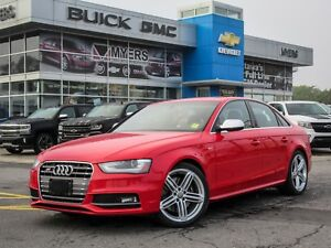 2014 Audi S4 PROGRESSIVE, 6-SPEED, SUNROOF, NAV *SUPERCHARGED!*