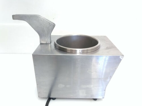 Server Topping Warmer/ Dispenser, NSF Stainless with Spout Warmer FSPW 81140