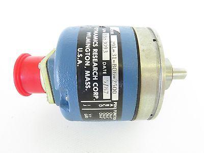 Dynamics Research Corp. Drc Motor Encoder 29l-31-b06-250029l31b062500 Bb83093
