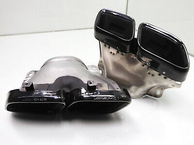 MERCEDES GLE W167 / GT X290 63 AMG ENDROHRE AUSPUFF AUSPUFFBLENDEN 0004902000