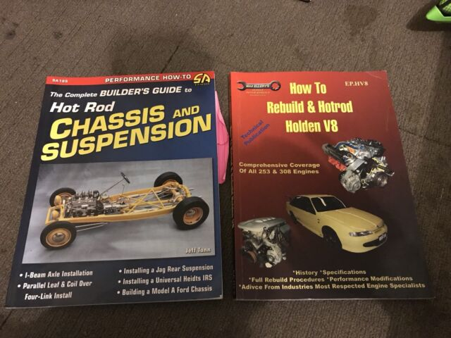 Hot Rod books - how to rebuild & chassis and suspension   Nonfiction