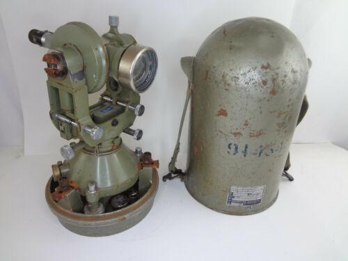 Survey US Military WILD HEERBRUGG THEODOLITE #29731 Swiss Made Vintage J711